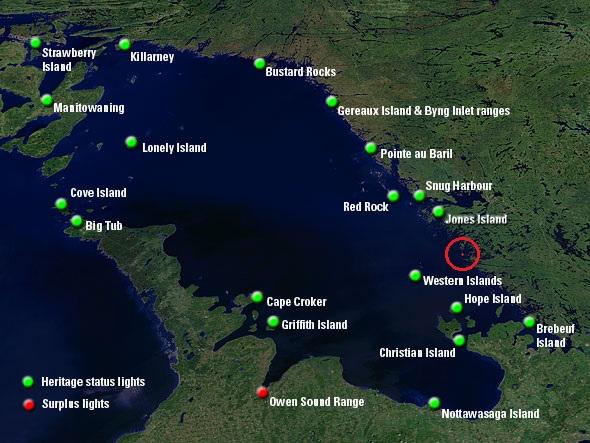 Amenities Georgian Bay Island B115 Quot High Rock Quot